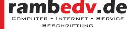 rambedv – Computer – Internet – Service – Beschriftung